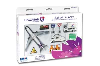 Hawaiian Airlines Airport Playset - New Livery by Realtoy Diecast Toys item number: RT2431-1