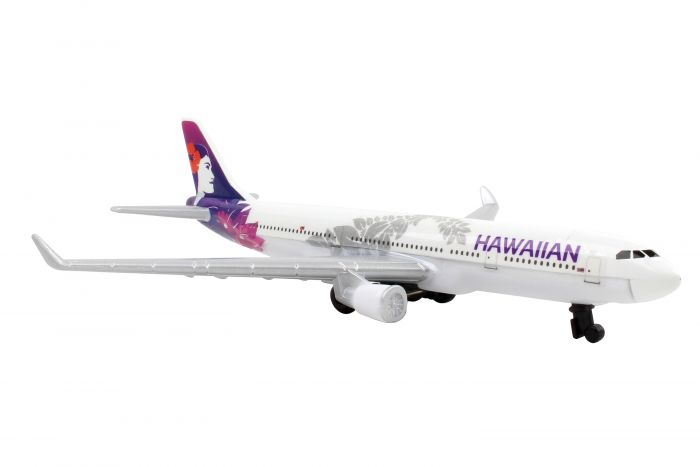 Hawaiian Airlines Single Plane by Realtoy Diecast Toys item number: RT2434-1