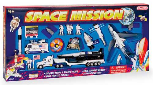 Space Shuttle 20 Piece Playset, Realtoy Diecast Toys Item Number RT38147