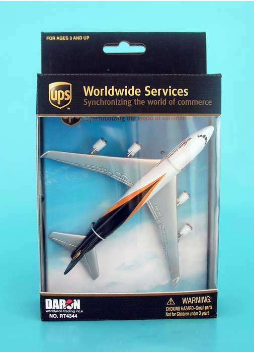"Ups 747 (5""), Realtoy Diecast Toys Item Number RT4344"