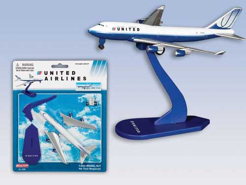 United AirlinesPullback Model Kit, Realtoy Diecast Toys Item Number RT6286