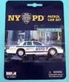 Nypd Police Car Set, Realtoy Diecast Toys Item Number RT8973