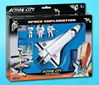 Space Shuttle 7-Piece Playset W/Kennedy, Realtoy Diecast Toys Item Number RT9107K