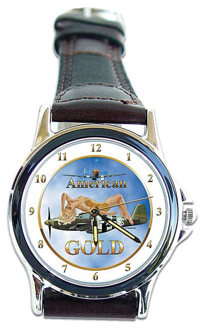 "P-51 ""American Gold"" Watch"
