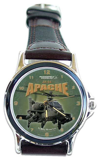 "AH-64 Apache ""Boeing Milestone Series Watch"