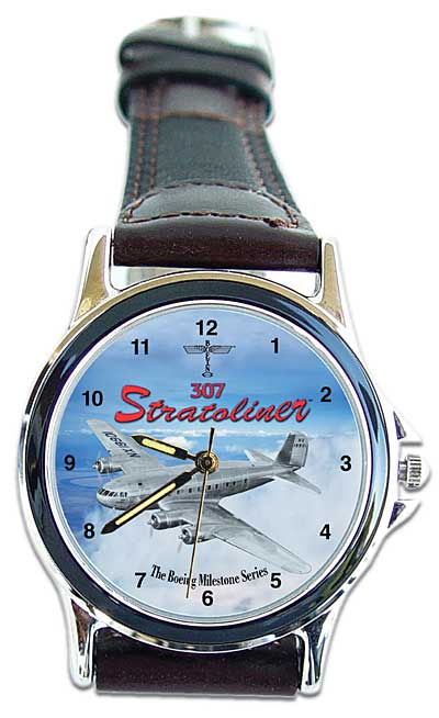 "307 Stratoliner ""Boeing  Milestone Series"" Watch, Air Land Sea Item Number RW203"
