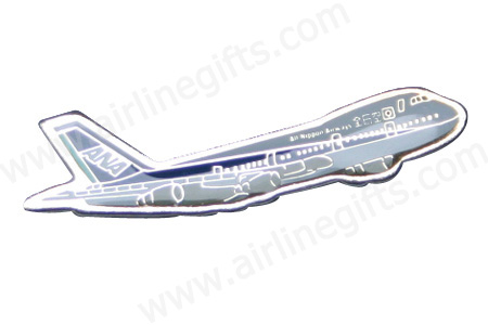 ANA B747 Pin, ACI Aviation Jewelry and Bag Tags Item Number PIN304