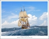 "Mayflower - ""Journey To A New Life"" by Mark Karvon Aviation Art Item Number: MKNMYFLR"