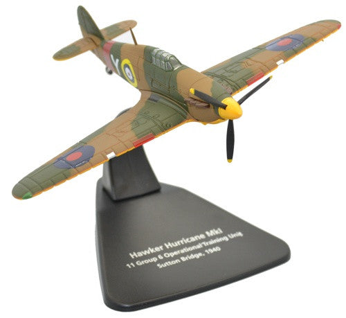 Hawker Hurricane Mk.I, 11 Group, 6 Operational Training Unit (OTU), RAF Sutton Bridge, 1940 (1:72), Oxford Diecast 1:72 Scale Models Item Number AC069