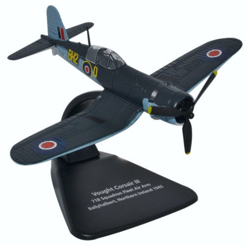 Vought Corsair III, 718 Squadron, Royal Navy Fleet Air Arm, Ballyhalbert, Northern Ireland, 1945, Oxford Diecast 1:72 Scale Models Item Number AC070
