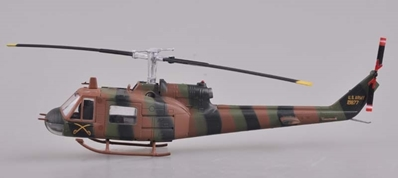 UH-1B Huey Iroquois U.S.Army of Utility Tactical Transport Helicopter (1:72), EasyModel Aircraft Models Item Number EM36910
