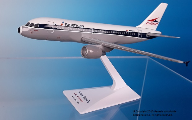 "American / Allegheny A319 ""Heritage Livery"" (1:200)"