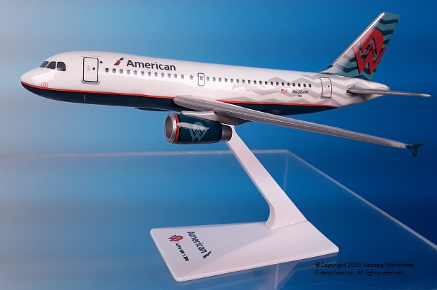 "American / America West A319 ""Heritage Livery"" (1:200)"