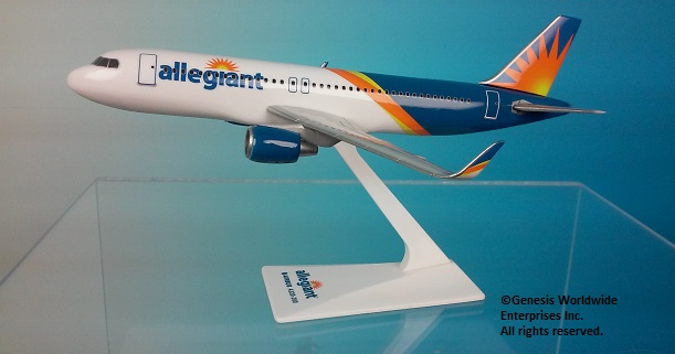 Allegiant A320 2017 Livery (1:200)
