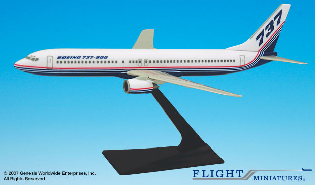 Boeing 737-900 House Colors (1:200), Flight Miniatures Snap-Fit Airliners, Item Number BO-73790H-001