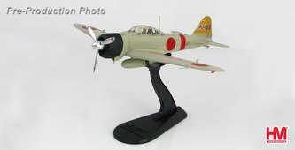 A6M2b Zero, LCDR Shigeru Itaya, IJNAS, AI-155, IJN Carrier Akagi, First Wave Fighter Leader, Pearl Harbor, December 7th 1941 (1:48) - HA8801