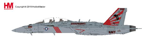 "EA-18G Growler VAQ-141 ""Shadowhawks"", USS Ronald Reagan, Atsugi Air Base, 2017 (1:72) - Preorder item, order now for future delivery, Hobby Master Diecast Airplanes, Item Number HA5150"