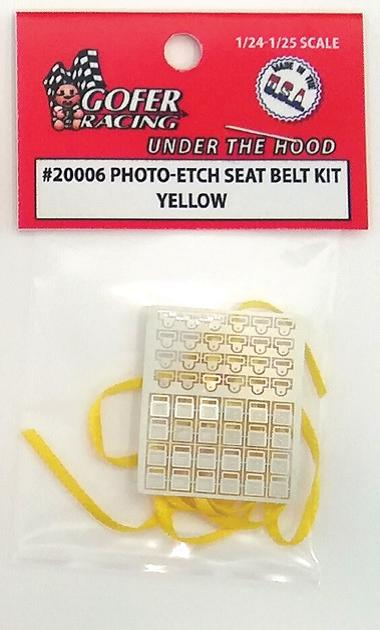 Photo Etch Yellow Seatbelt Kit
