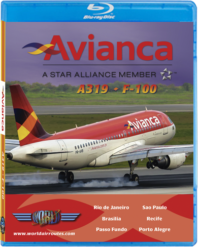Avianca A319 - F-100 (BluRay DVD)