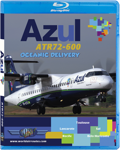 Azul ATR72-600 (BluRay DVD)