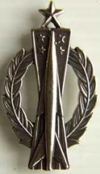 USAF Senior Missile Operator Badge Full Sterling, Weingarten Gallery Item Number P-784