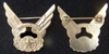 WWII WASP Avenger Field Training Officer Cap Badge and DI pin back, Weingarten Gallery Item Number P-2232P