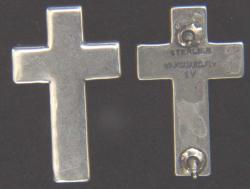 1954 to 1965 US Chaplain Sterling Collars, Weingarten Gallery Item Number P-2239