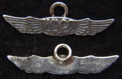 WACO Sterling Silver Charm, Weingarten Gallery Item Number P-2267C