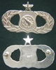 Weapons Director,  Senior USAF Occupational Badge Sterling by Weingarten Gallery Item Number: P-2364