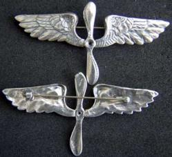 1920s Aviation Cadet Badge, Weingarten Gallery Item Number P-1828