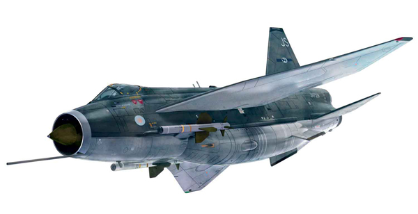 English Electric Lightning F6 XR728/JS , RAF Binbrook (1:48)