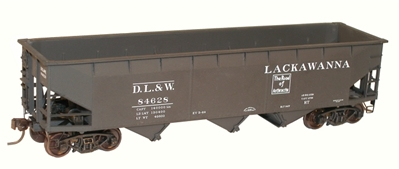 70t Triple Hopper Lack 2 Car set(HO), Accurail Model Trains Item Number ACU75534