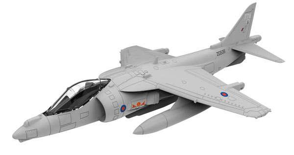 Harrier MkII GR9 Fighter Jet Scale (1:72)