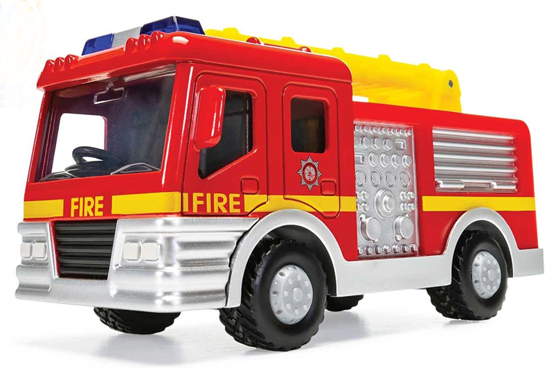 Fire Department Ladder Truck by Corgi Entertainment Diecast