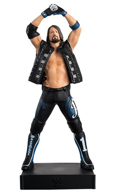 AJ Styles  - WWE Championship Figurine Collection - Cast Resin - Hand-Painted