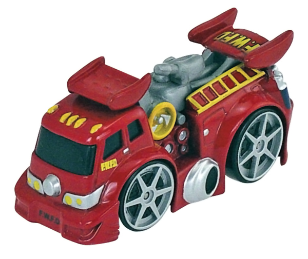 Red Fire Truck - Collect 'N Play Series, ERTL Item Number ERTL39426-CNP