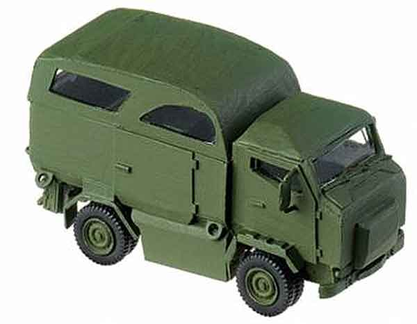 Mungo Transport Vehicle - (1:87), Herpa Item Number HE741866