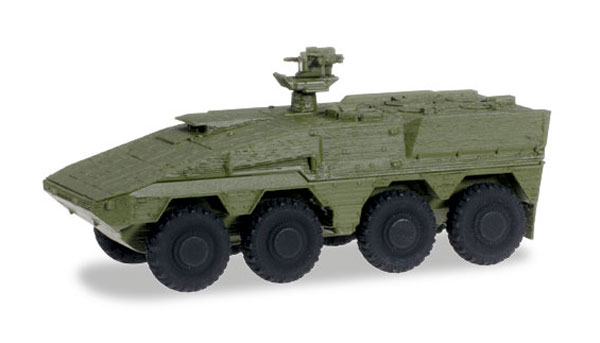 GTL Boxer Transport Vehicle in Military Green (1:87), Herpa Item Number HE745130