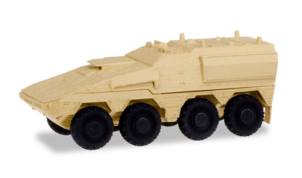 GTL Boxer Sanitation Vehicle in Sand Beige (1:87), Herpa Item Number HE745147
