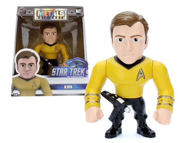 Captain Kirk 4-Inch Diecast Metal Figure M370