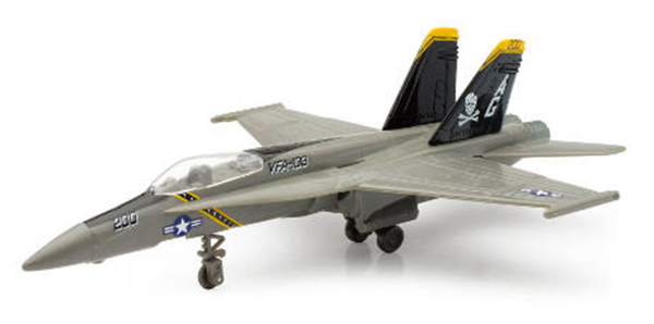 McDonnell Douglas F/A18 Hornet Plastic Model Kit by New Ray Diecast Item Number: NR21377-E