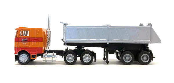 Cherokee Freight  Peterbilt COE with End Dump Trailer (1:87)