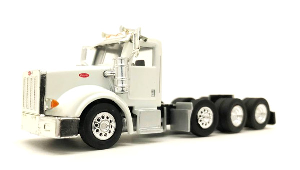 Peterbilt 367 Heavy Hauler in White (1:87), Promotex Item Number PRX006574