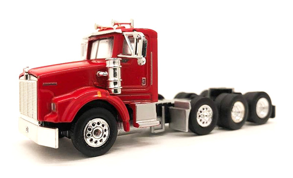 Kenworth T800 Heavy Hauler in Red (1:87), Promotex Item Number PRX006575