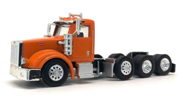 Peterbilt 367 Day Cab in Orange  Cab Only (1:87)