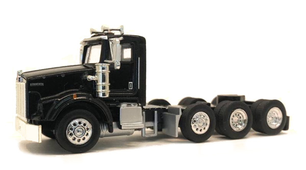 Kenworth T800 Day Cab in Black  Cab Only (1:87)