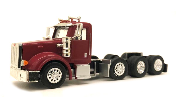 Peterbilt 367 Day Cab in Burgundy (1:87), Promotex Item Number PRX006579