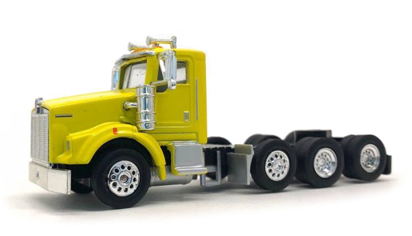 Kenworth T800 Day Cab in Yellow (1:87), Promotex Item Number PRX006580