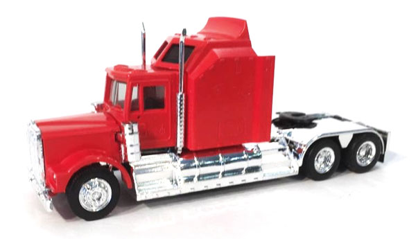 Kenworth W900 with Extra Large Sleeper in Red (1:87), Promotex Item Number PRX035235