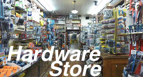 Ho Picture Windows Hardware Store, City Classics Item Number CIT1404